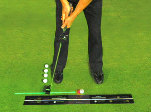 With Laser Putt™, you'll soon develop laser-perfect feel for distance, pace, and speed.