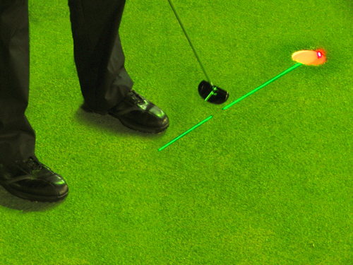 Burn images of perfect putts into your mind.